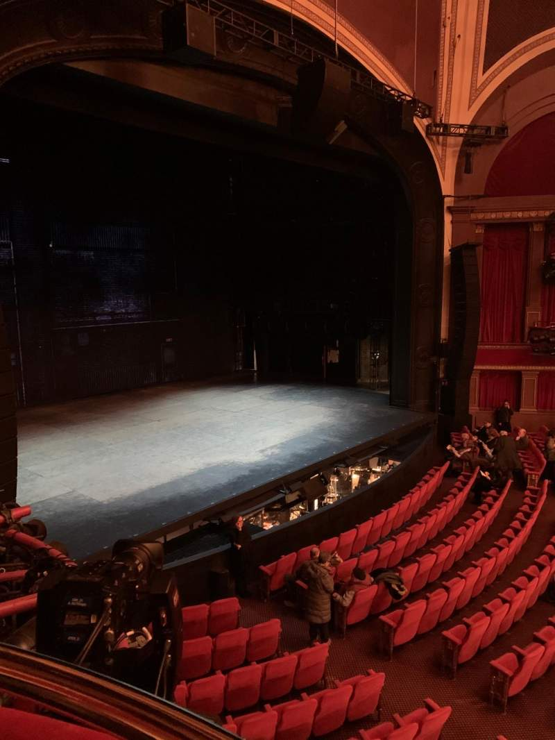 Seating view for Broadway Theatre - 53rd Street Section Box B Seat 2