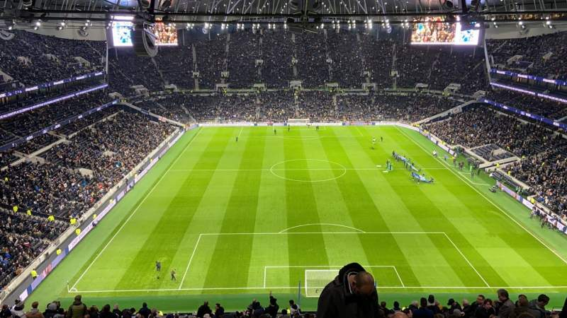 Seating view for Tottenham Hotspur Stadium Section 519 Row 17 Seat 629