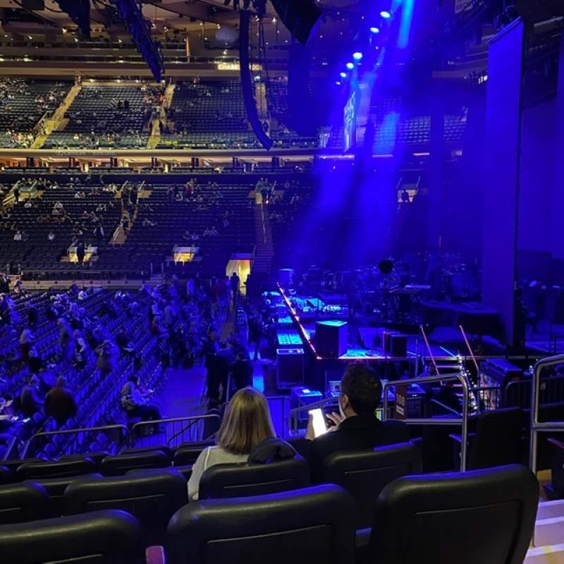 Seating view for Madison Square Garden Section 108 Row D Seat 20
