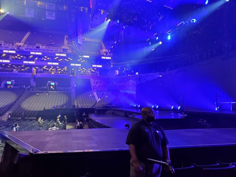 Seating view for Barclays Center Section 7 Row 8 Seat 1
