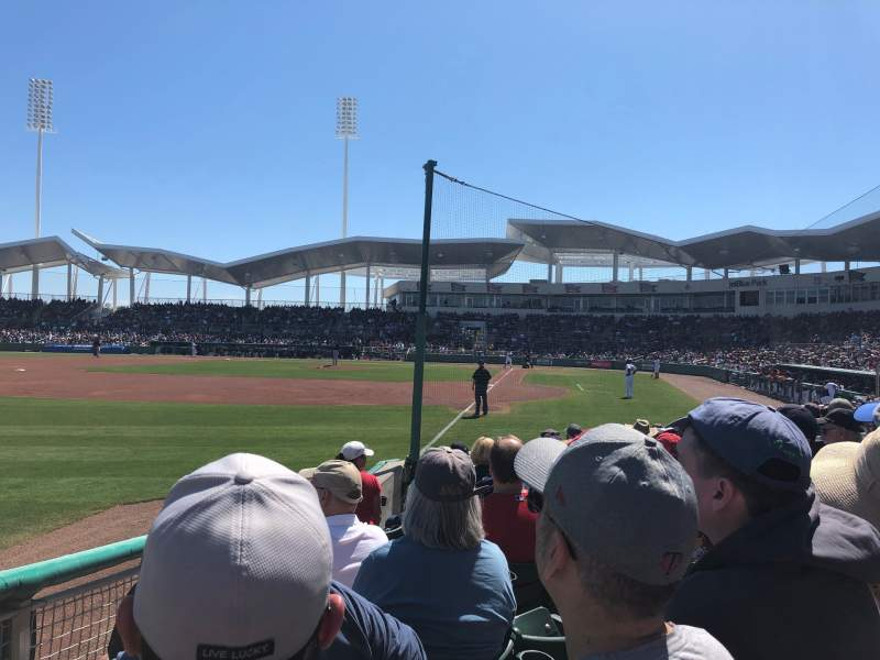 Seating view for JetBlue Park Section 116 Row 8 Seat 12