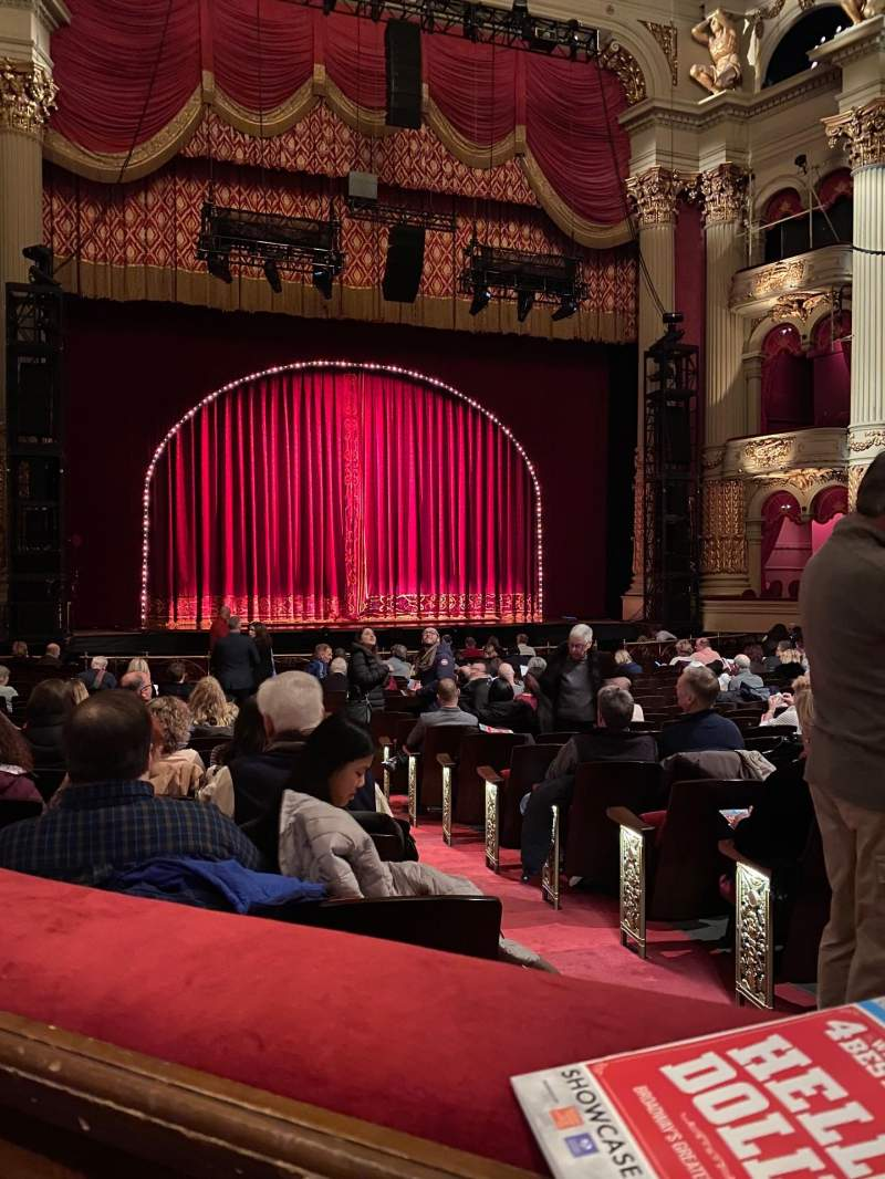 Seating view for Academy of Music Section Parquet Box 20 Seat 2