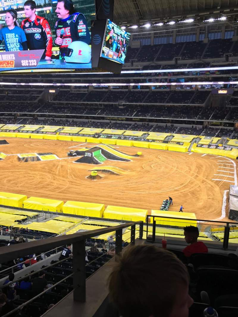 Seating view for AT&T Stadium Section 330 Row 5 Seat 11