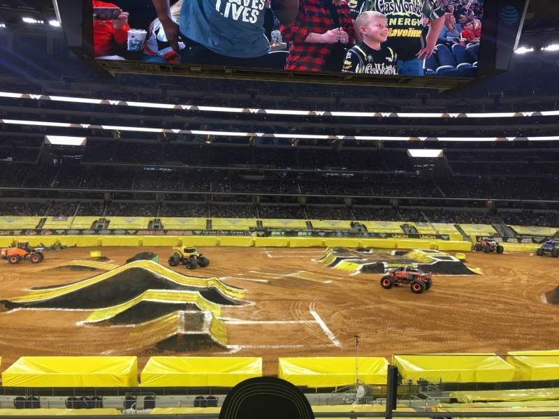 Seating view for AT&T Stadium Section C210 Row 3 Seat 35