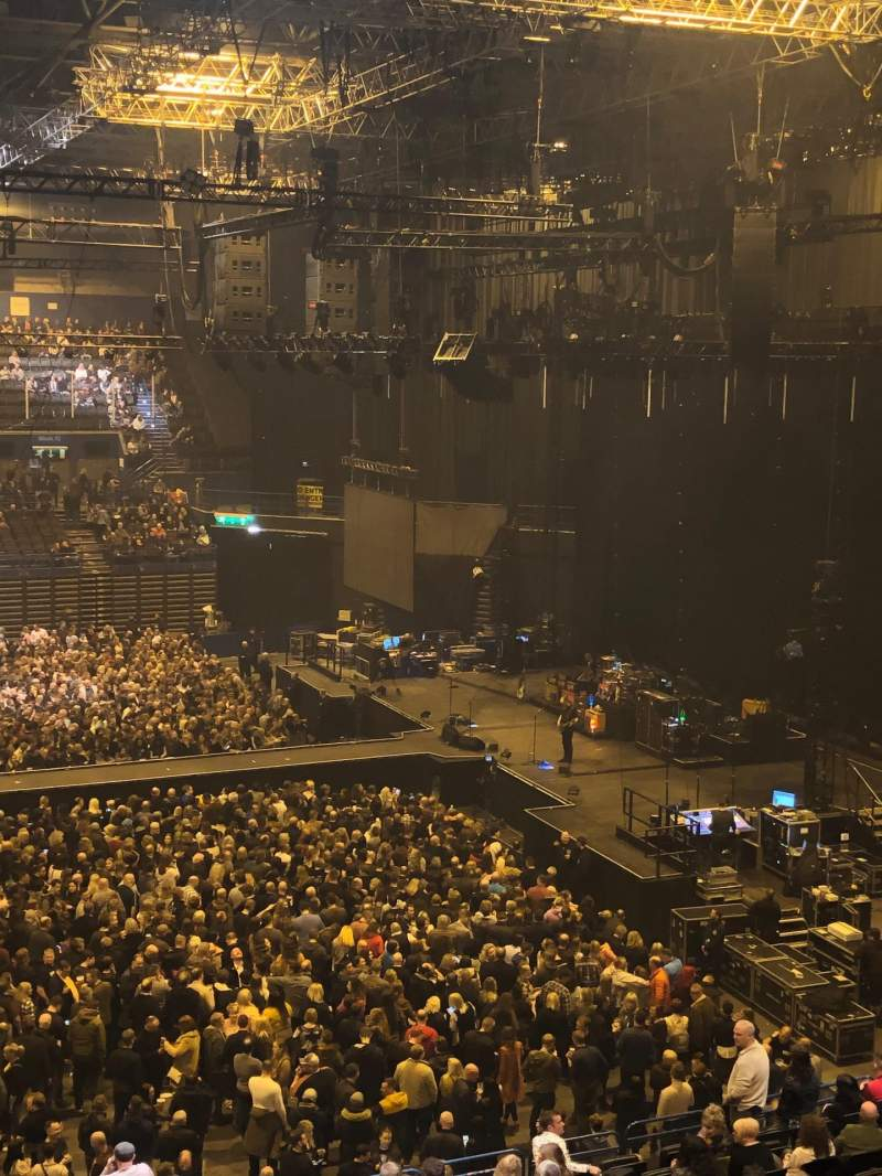 Seating view for Utilita Arena Birmingham Section 1 Upper Row JJ Seat 51