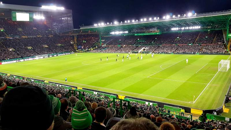 Seating view for Celtic Park Section 201 Row NN Seat 6