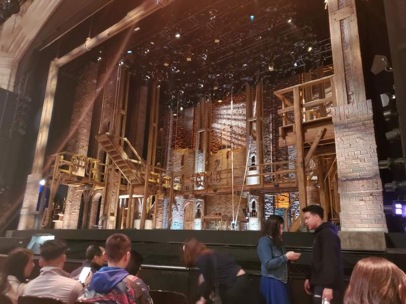 Seating view for Orpheum Theatre (San Francisco) Section Orchestra R Row E Seat 2