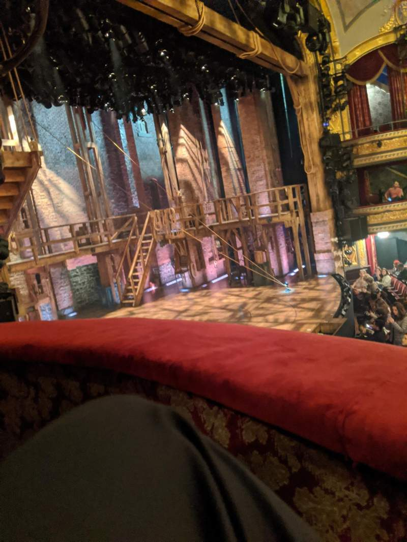 Seating view for Richard Rodgers Theatre Section Box B Row B Seat 3