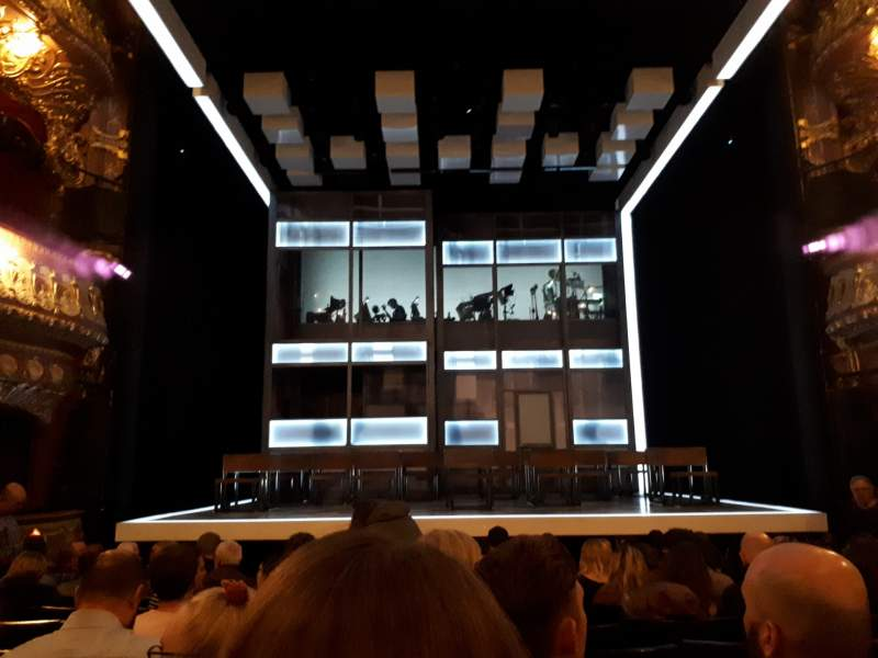 Seating view for Apollo Theatre Section Stalls Row M Seat 12