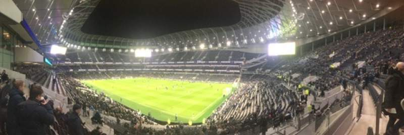Seating view for Tottenham Hotspur Stadium Section 259 Row 37 Seat 400