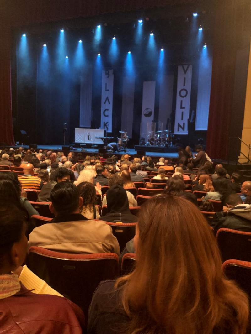 Seating view for California Center For The Arts, Escondido - Concert Hall Section Orch Row O Seat 35