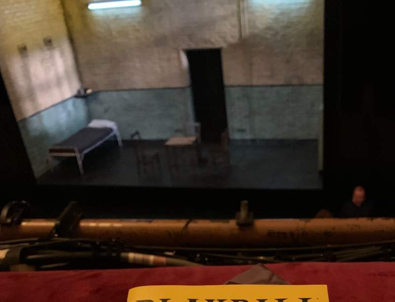 Seating view for John Golden Theatre Section Front Mezzanine R Row A Seat 114