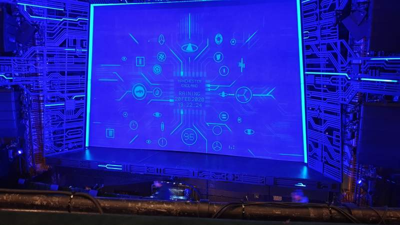 Seating view for Manchester Opera House Section Circle Row A Seat 16