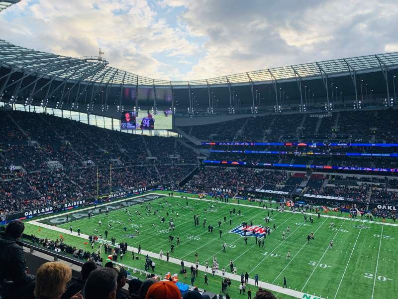 Seating view for Tottenham Hotspur Stadium Section 523 Row 5 Seat 770