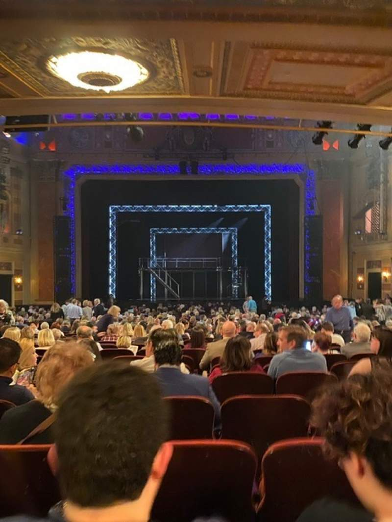 Seating view for Saenger Theatre (New Orleans) Section Orchestra C Row EE Seat 109