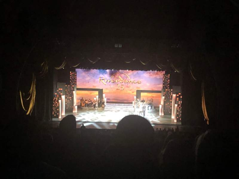 Seating view for Radio City Music Hall Section 2nd Mezzanine 4 Row H Seat 404