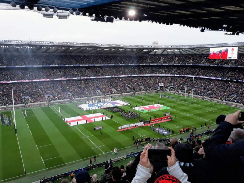 Seating view for Twickenham Stadium Section U11 Row L Seat 291