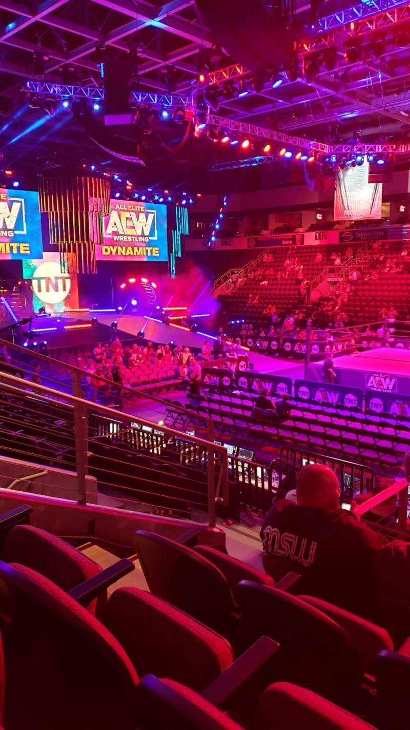 Seating view for Silverstein Eye Centers Arena Section 107 Row K Seat 11