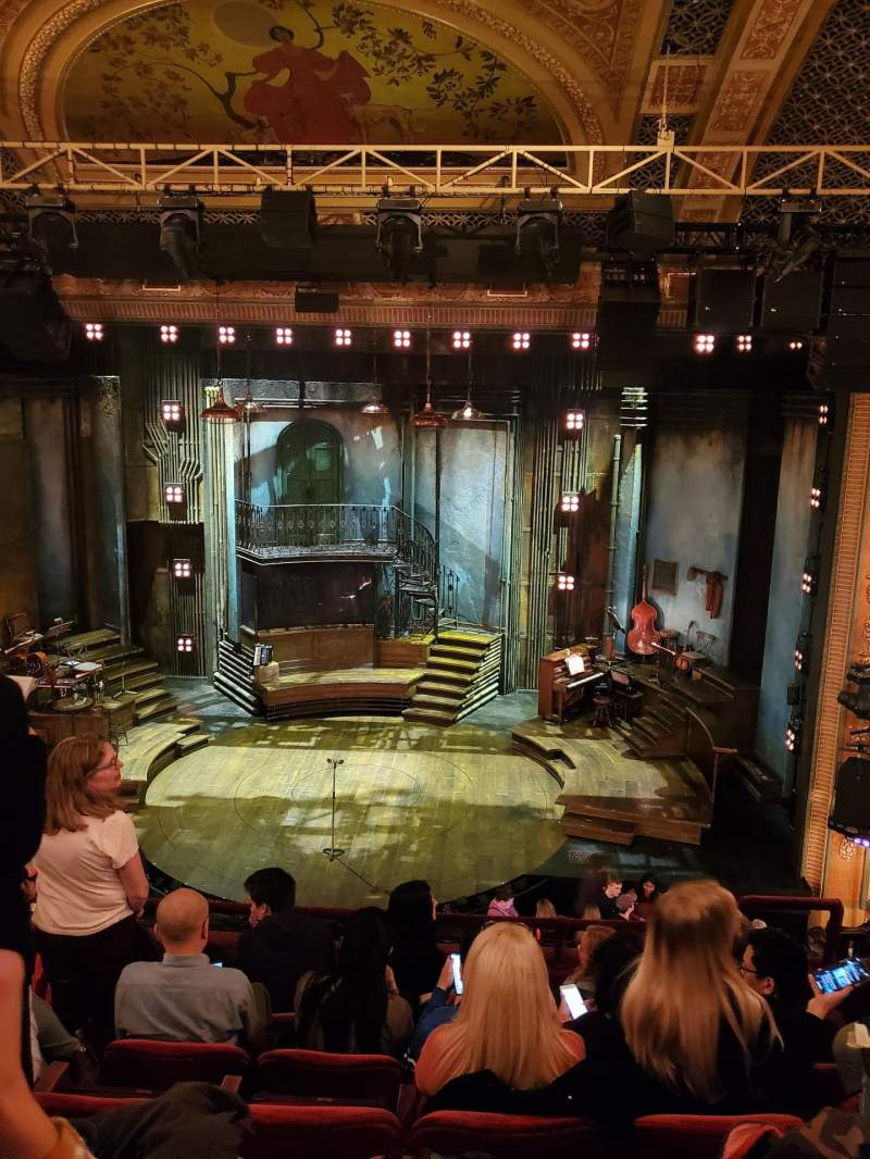 Seating view for Walter Kerr Theatre Section Mezzanine C Row F Seat 103