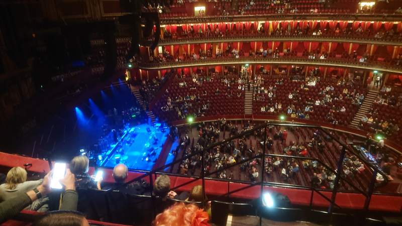 Seating view for Royal Albert Hall Section Rausing Circle Q Row 4 Seat 29