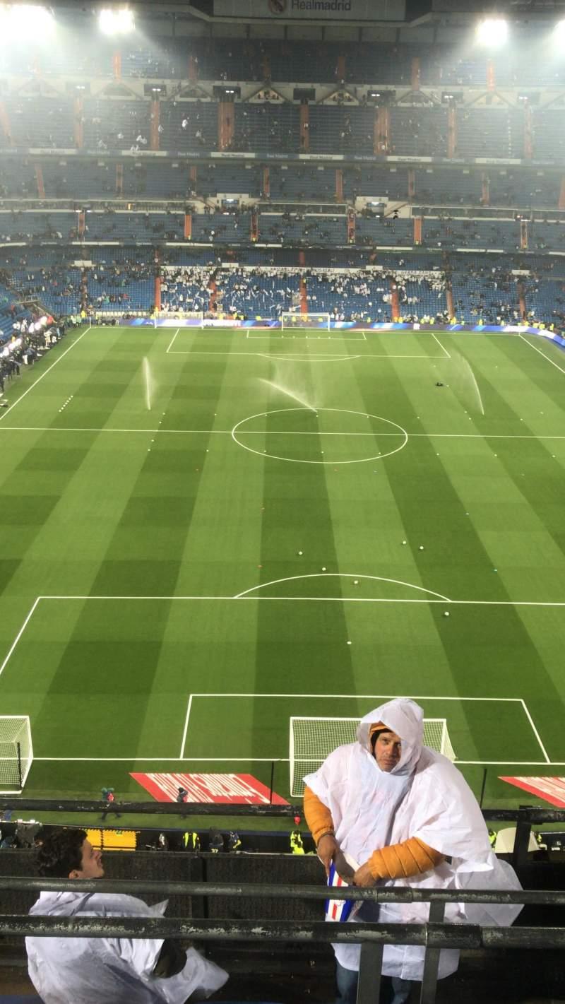 Seating view for Santiago Bernabéu Stadium Section 521 Row 5 Seat 19