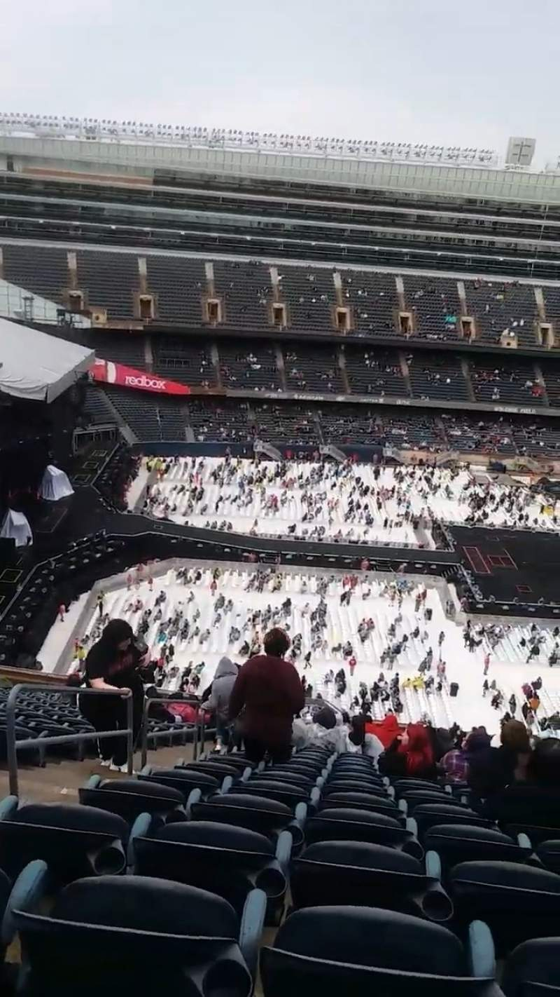 Seating view for Soldier Field Section 440 Row 23 Seat 3