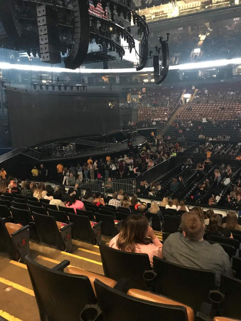 Seating view for Scotiabank Arena  Section 108 Row 16 Seat 21-22