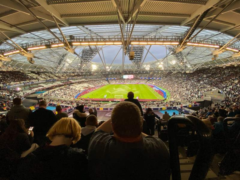 Seating view for London Stadium Section 223 Row 61 Seat 840