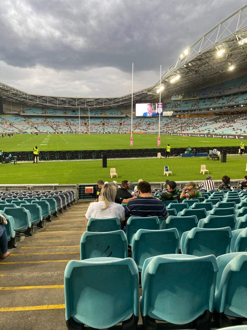 Seating view for ANZ Stadium Section 140 Row 15 Seat 1