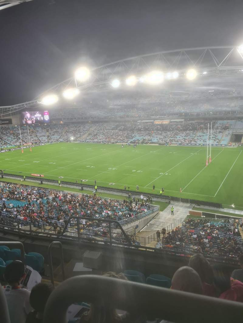 Seating view for ANZ Stadium Section 410 Row 6 Seat 63