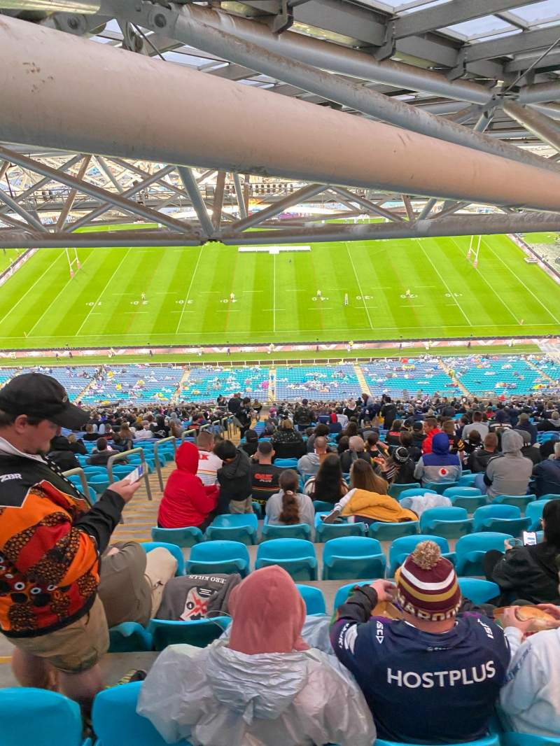 Seating view for ANZ Stadium Section 608-2 Row 47 Seat 35
