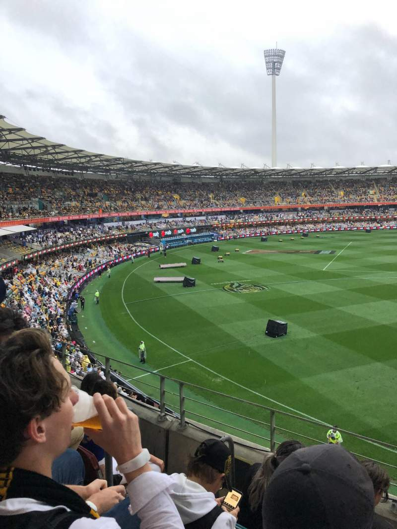 Seating view for The Gabba Section 57 Row DD Seat 128