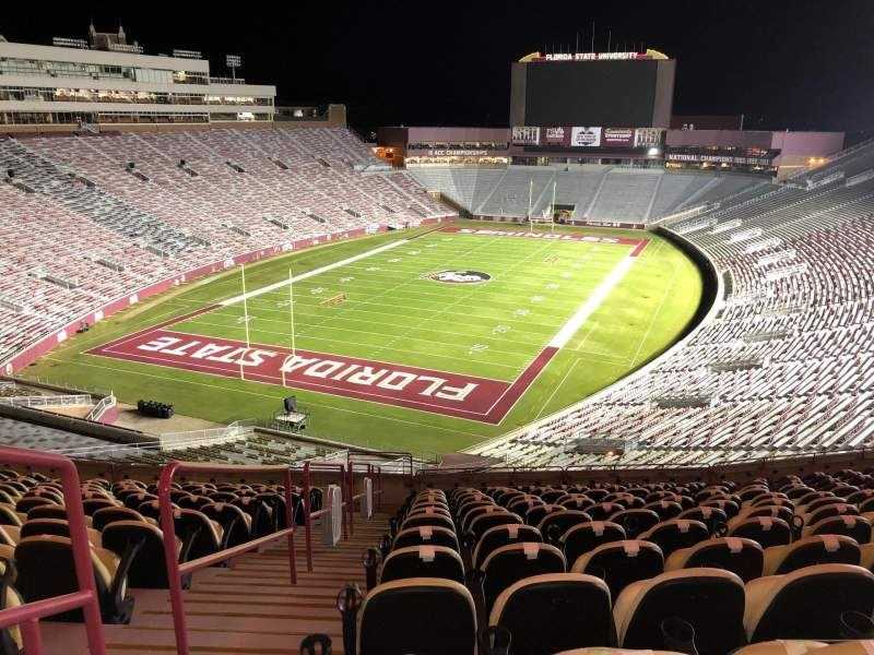 Seating view for Bobby Bowden Field at Doak Campbell Stadium