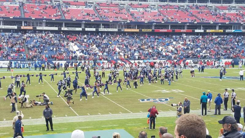 Seating view for Nissan Stadium Section 138 Row P Seat 9