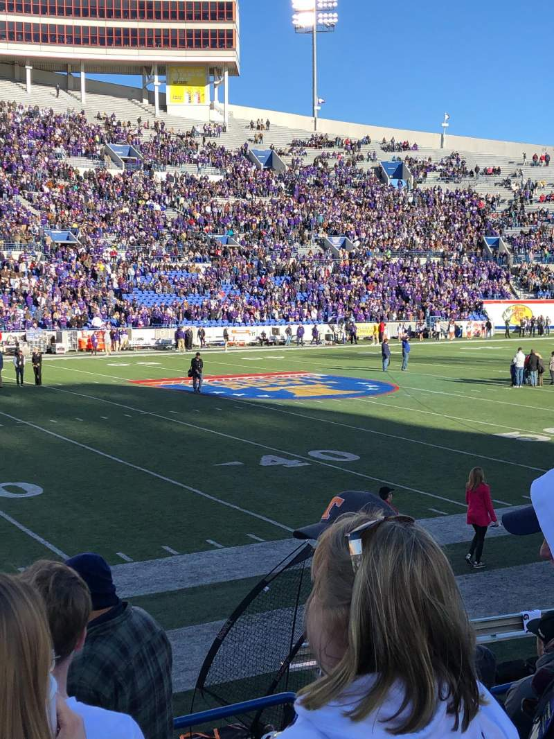 Seating view for Liberty Bowl Memorial Stadium Section 106 Row 13 Seat 4