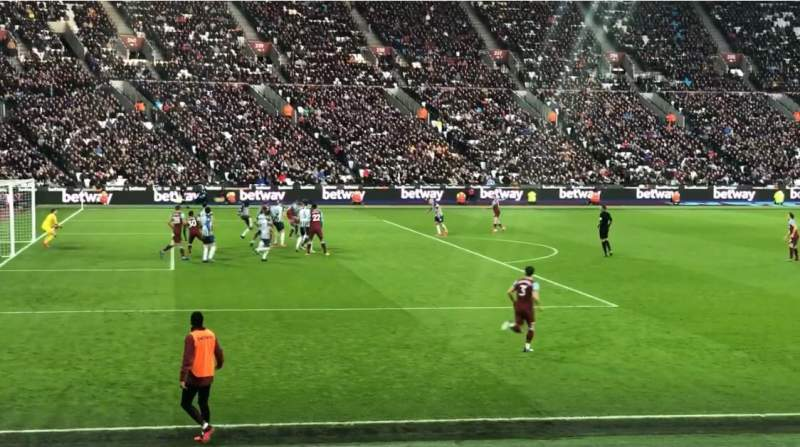 Seating view for London Stadium Section 104 Row 11 Seat 407