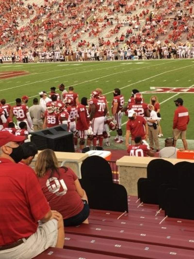 Seating view for Gaylord Memorial Stadium Section 3 Row 16 Seat 7