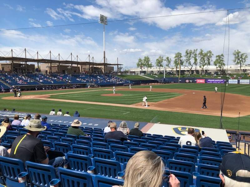 Seating view for American Family Fields of Phoenix Section 111 Row S Seat 2
