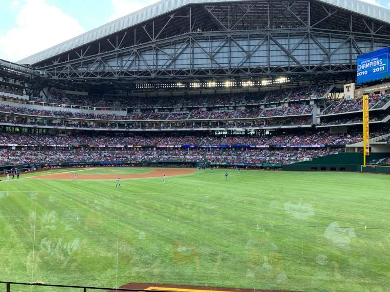 Seating view for Globe Life Field Section 132 Row 9 Seat 15