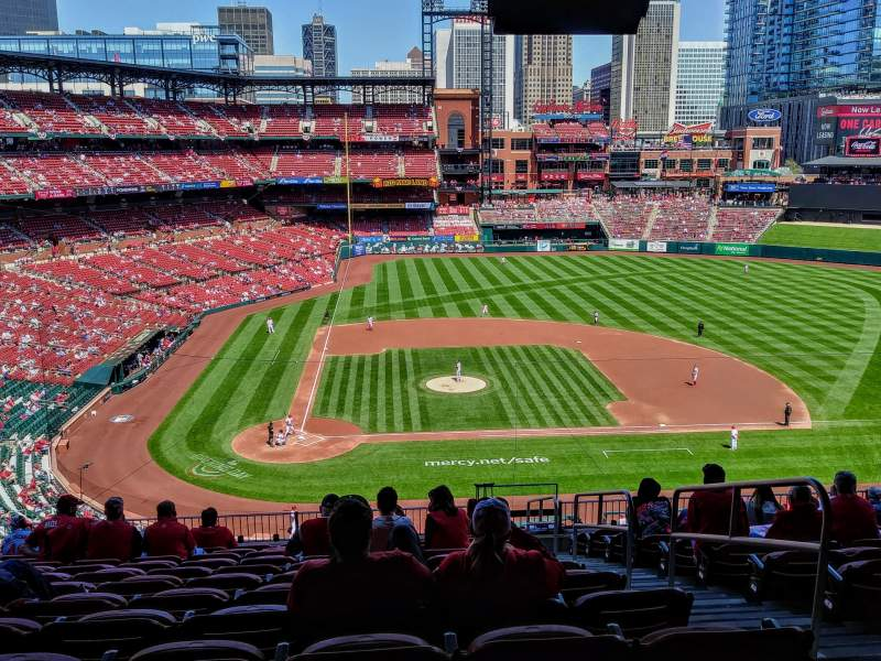 Seating view for Busch Stadium Section 246 Row 13 Seat 15