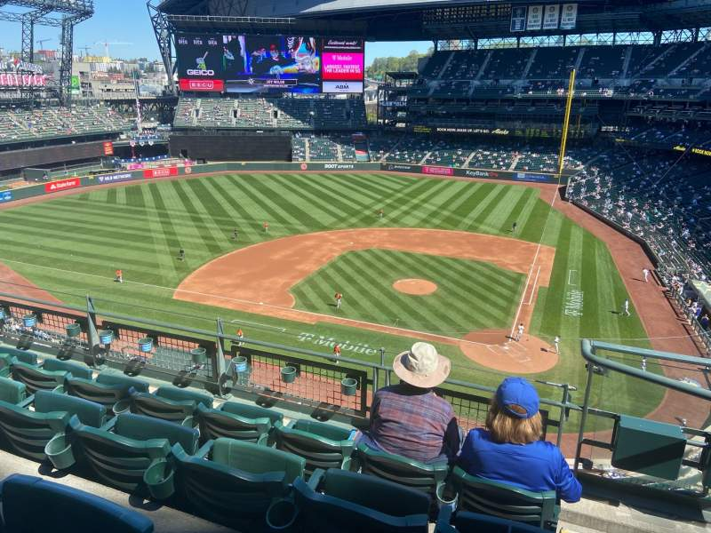 Seating view for T-Mobile Park Section 334 Row 4 Seat 1