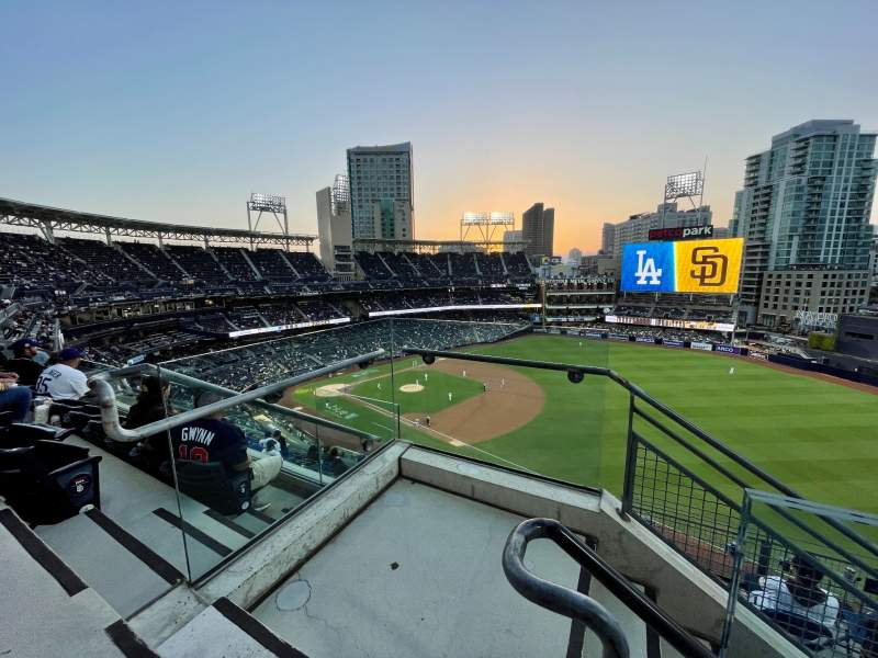 Seating view for PETCO Park Section 319 Row 9 Seat 1