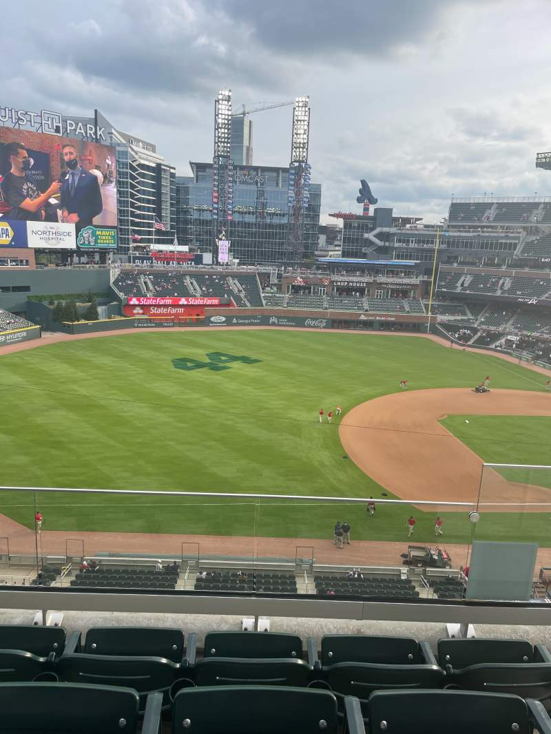 Seating view for Truist Park Section 337 Row 4