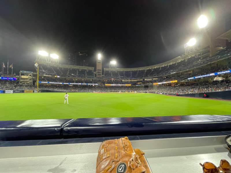 Seating view for PETCO Park Section 128 Row A Seat 19