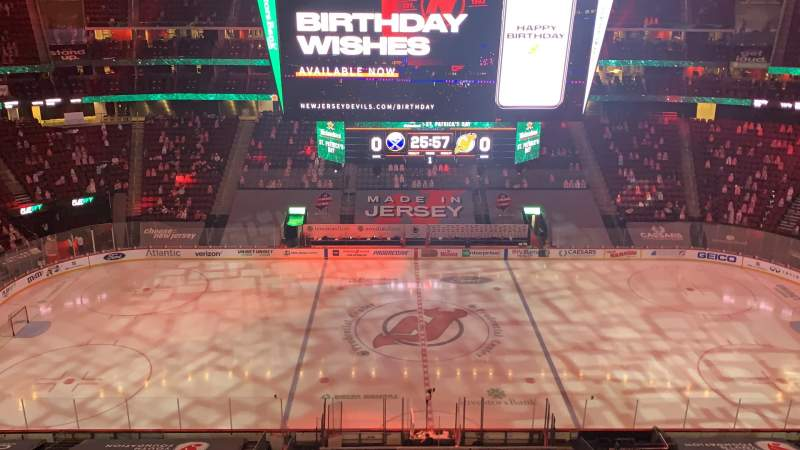 Seating view for Prudential Center Section 128 Row 5 Seat 4