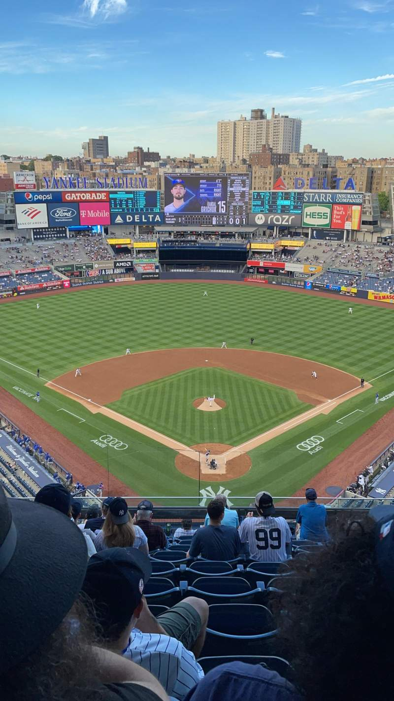Seating view for Yankee Stadium Section 420B Row 10 Seat 26