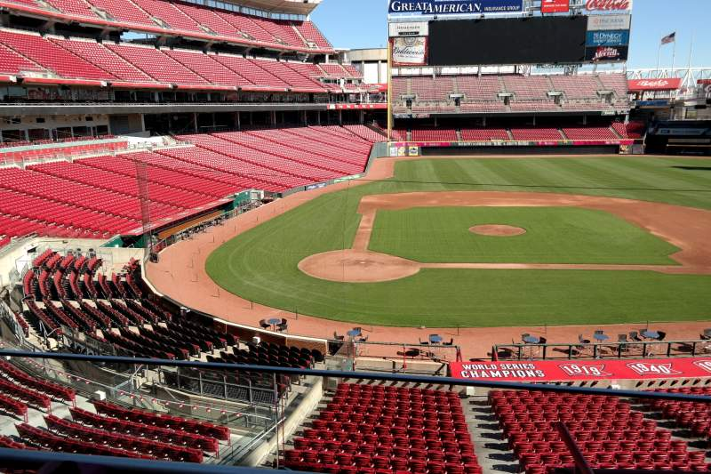 Seating view for Great American Ball Park Section 227 Row A Seat 7