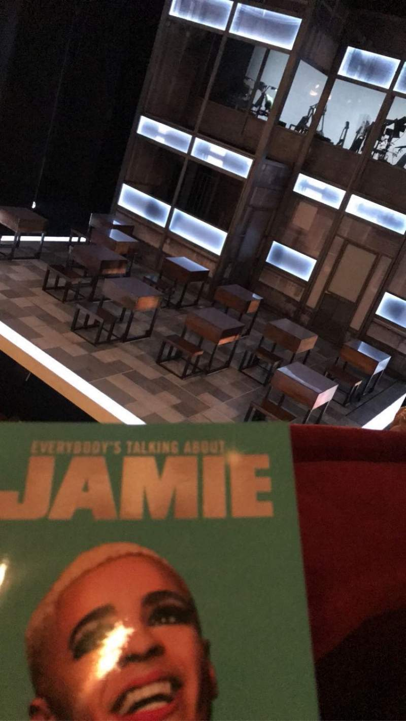 Seating view for Apollo Theatre Section Dress Circle Row A Seat 2