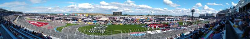 Seating view for Charlotte Motor Speedway Section GM H Row 49 Seat 32