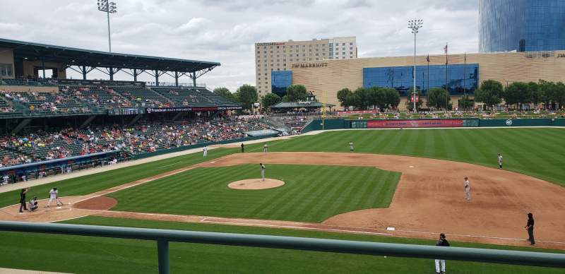 Seating view for Victory Field Section 215 Row B Seat 10